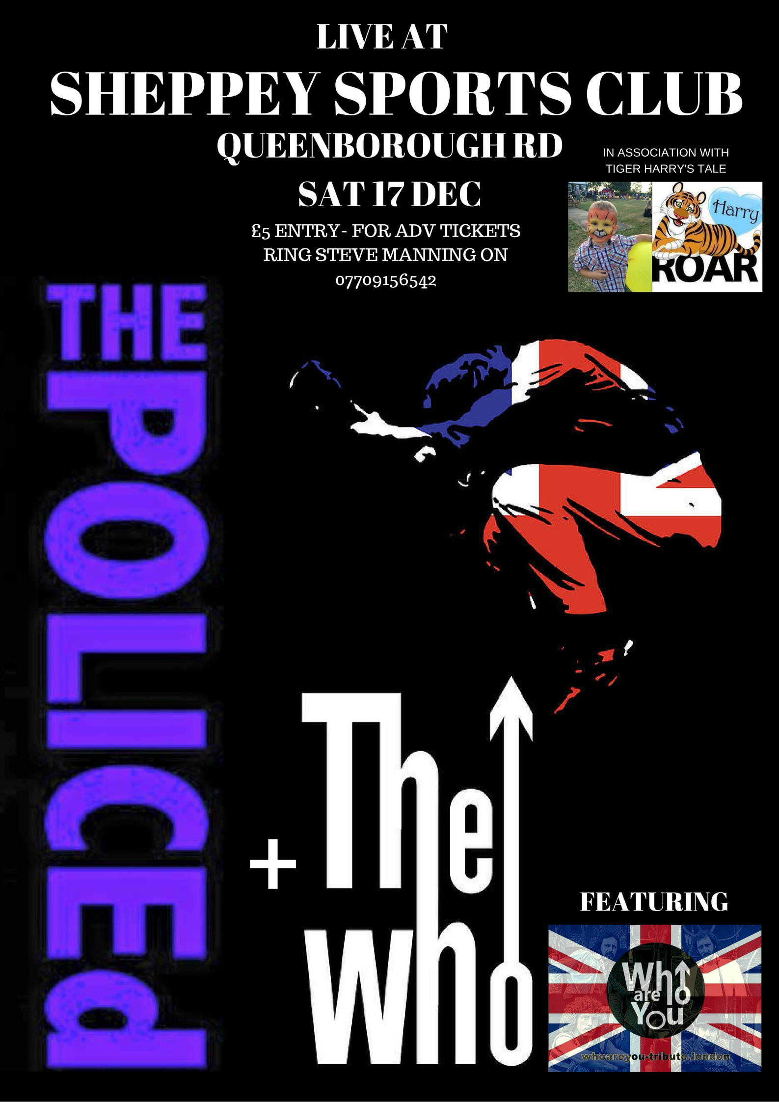The Police: The Police Tribute Band; The Who; Who Tribute Band; Who Band; Kent Tribute Band; UK Who Tribute Band, WHO ARE YOU;