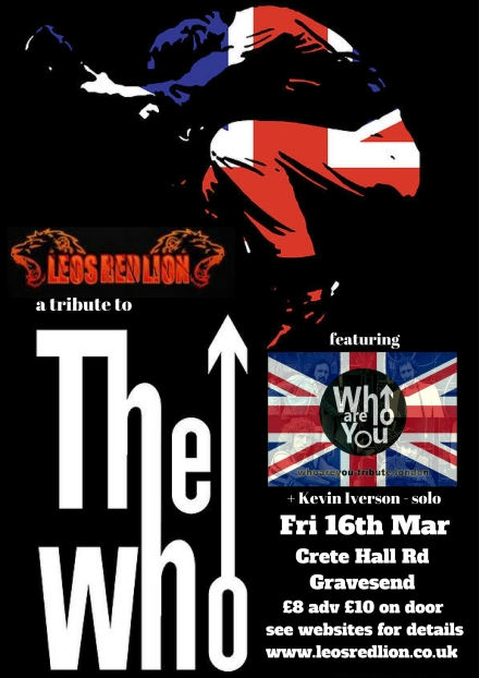 Red Lion 16th March