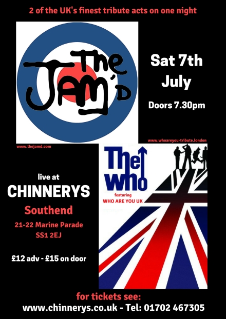 Chinnerys 7th July