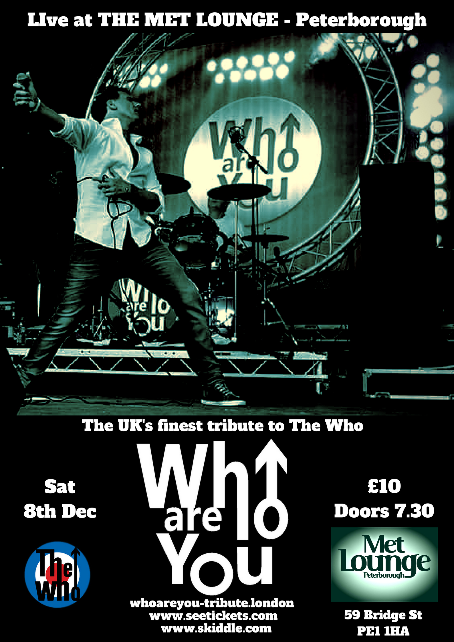 The UK's finest tribute to The WHo